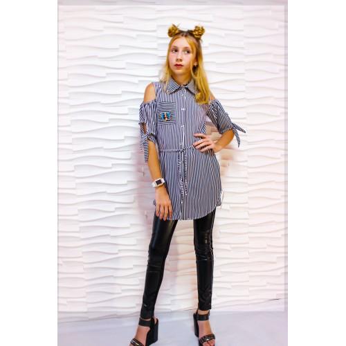 Платье рубашка 056