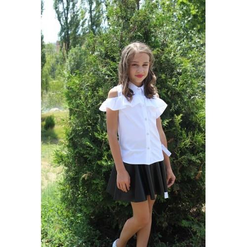 Блуза рюша 071