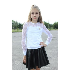 """Блуза школьная """"Мелис"""" 019"""