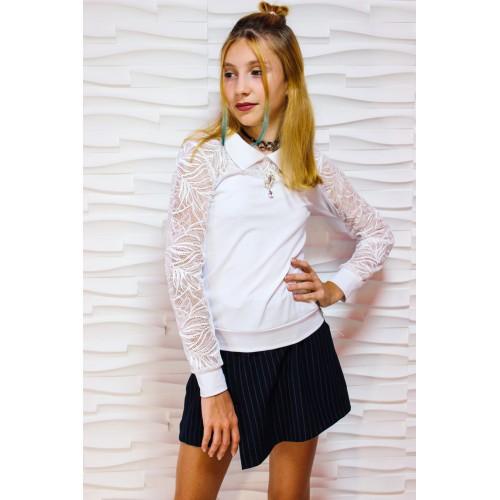 """Блуза """"Мелиса"""" воротник 020"""
